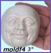 moldf4- 3 inch jolly male face(with ears)